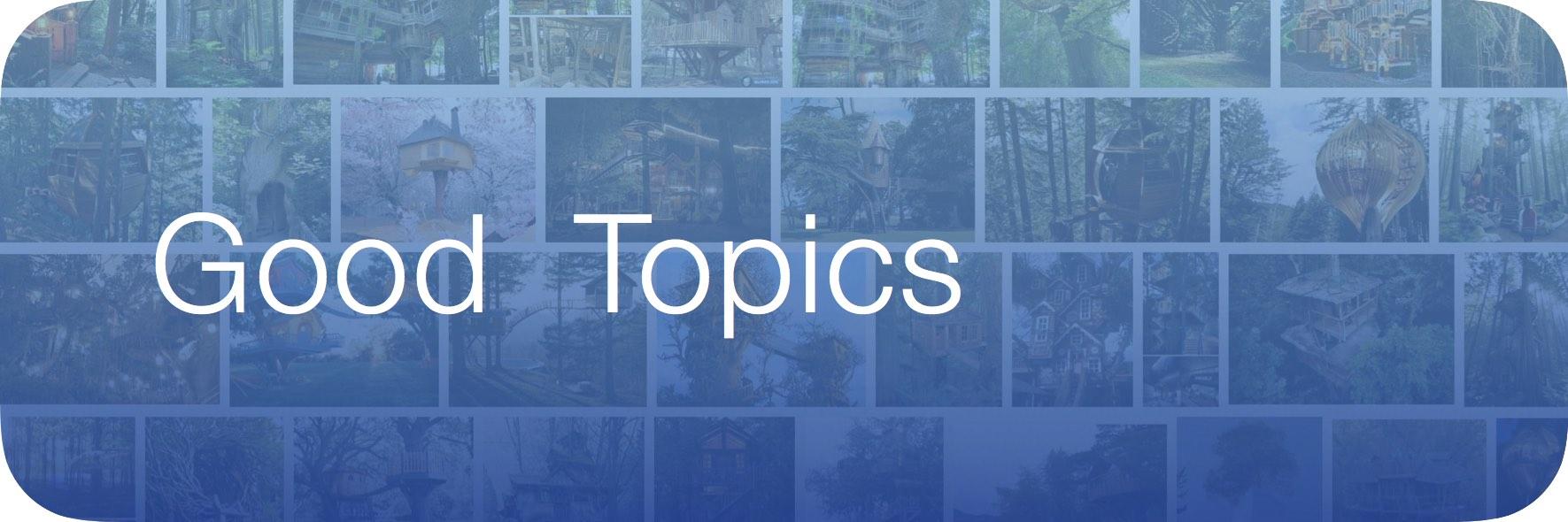 Study Button - Topics