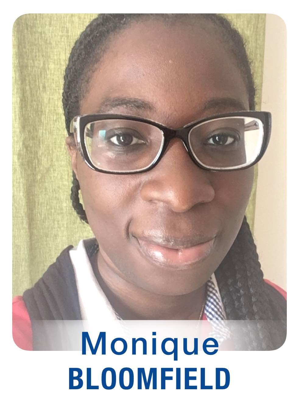 Monique Bloomfield Bio Photo