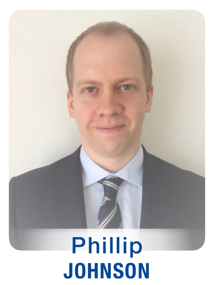 New Staff Photos (GTFs) Phillip Johnson