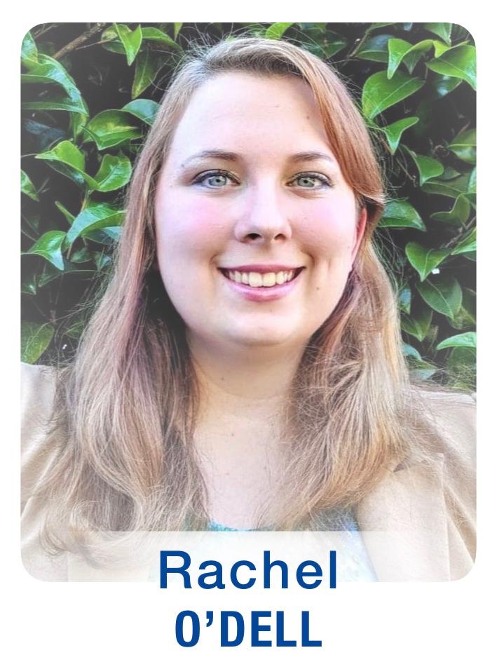 New Staff Photos (GTFs) Rachel O'Dell