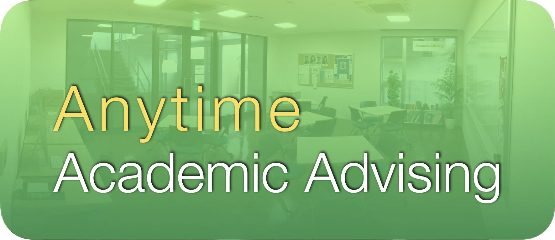 Anytime Advising Button 2020