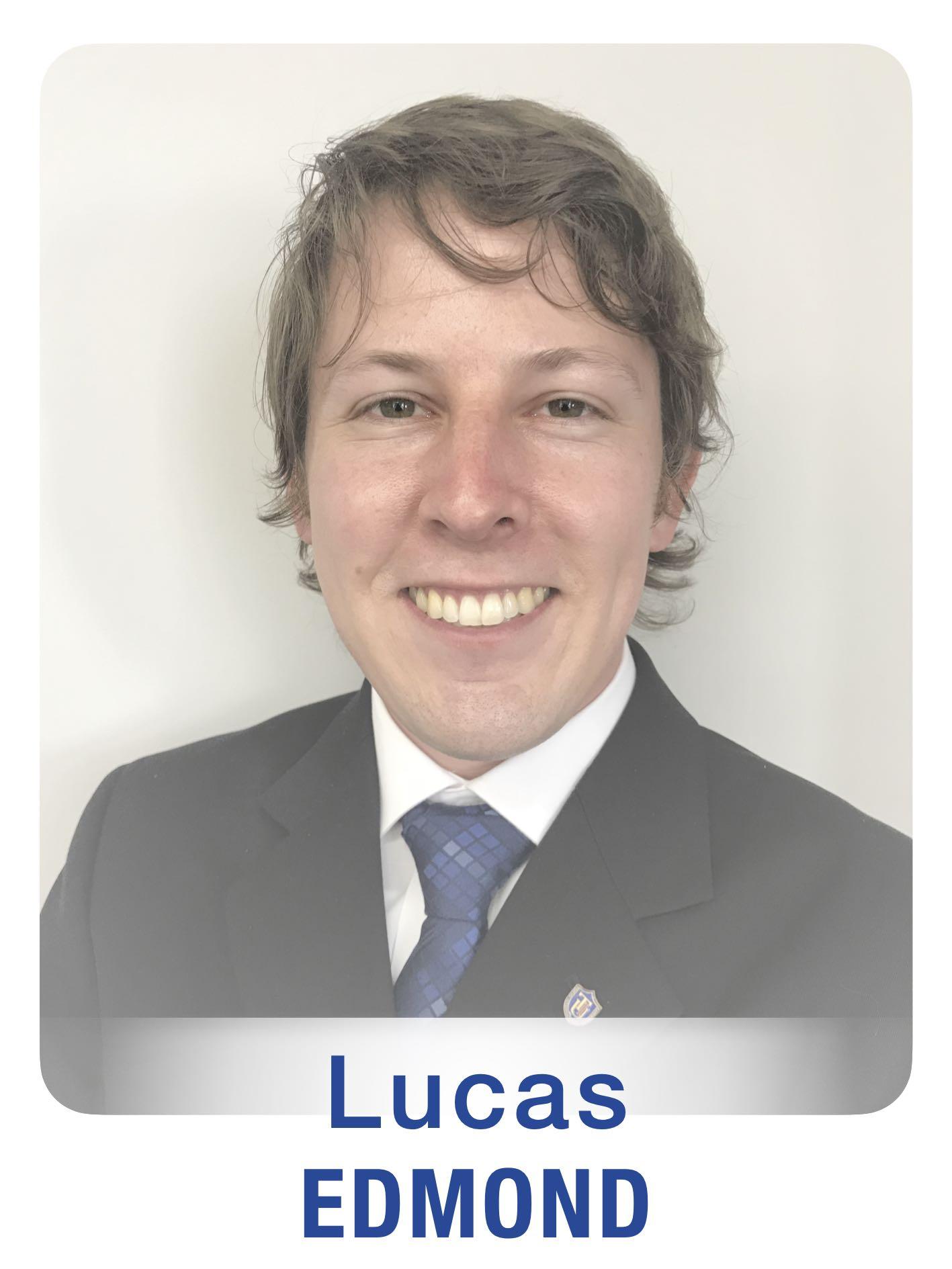 New Staff Photos (GTFs) Lucas Edmond