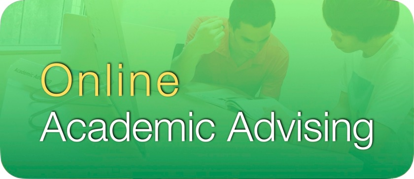 Online Academic Advising Button 2020