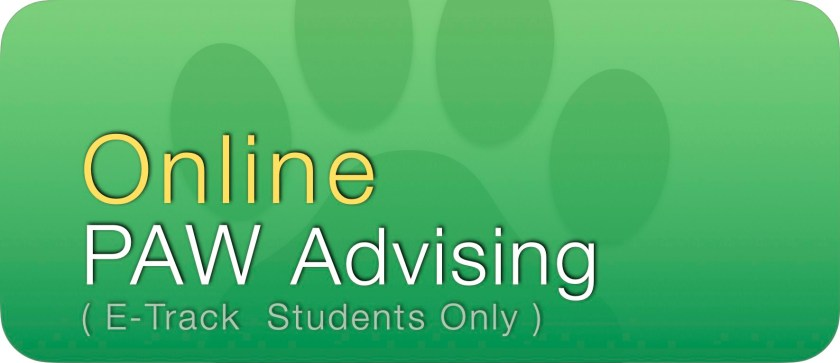Online PAW Advising Button