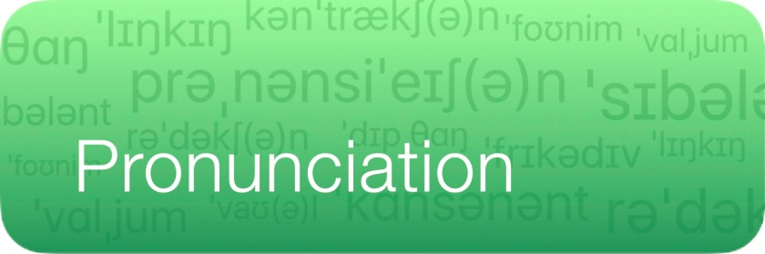 Pronunciation Page Button