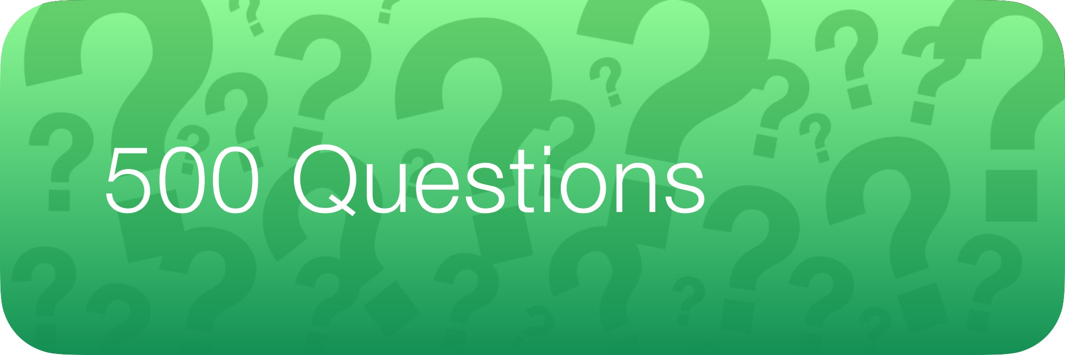 Study Buttons 500 Questions