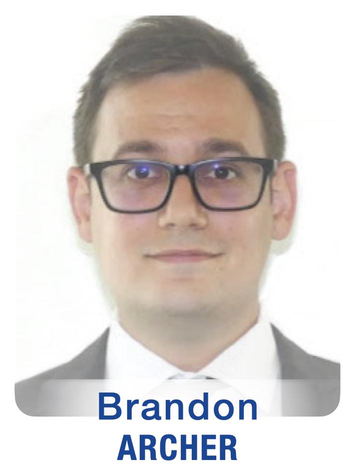 New Staff Photos (GTFs) Brandon Archer